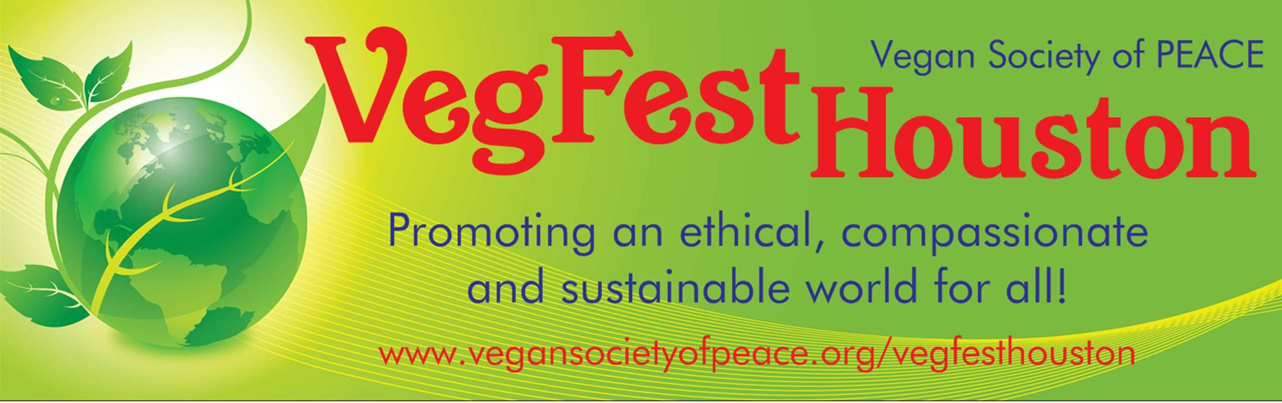 Vegan Society of PEACE VSOP VegFest Houston