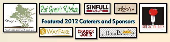 VSOP Thanksliving caterers and sponsors 2012