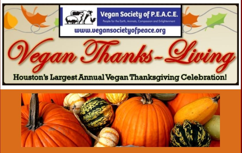 Vegan Society of PEACE ThanksLiving