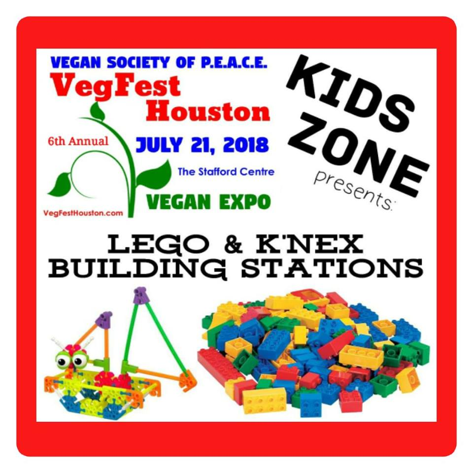 VegFest Houston Vegan Society of PEACE 2018 Makerspace