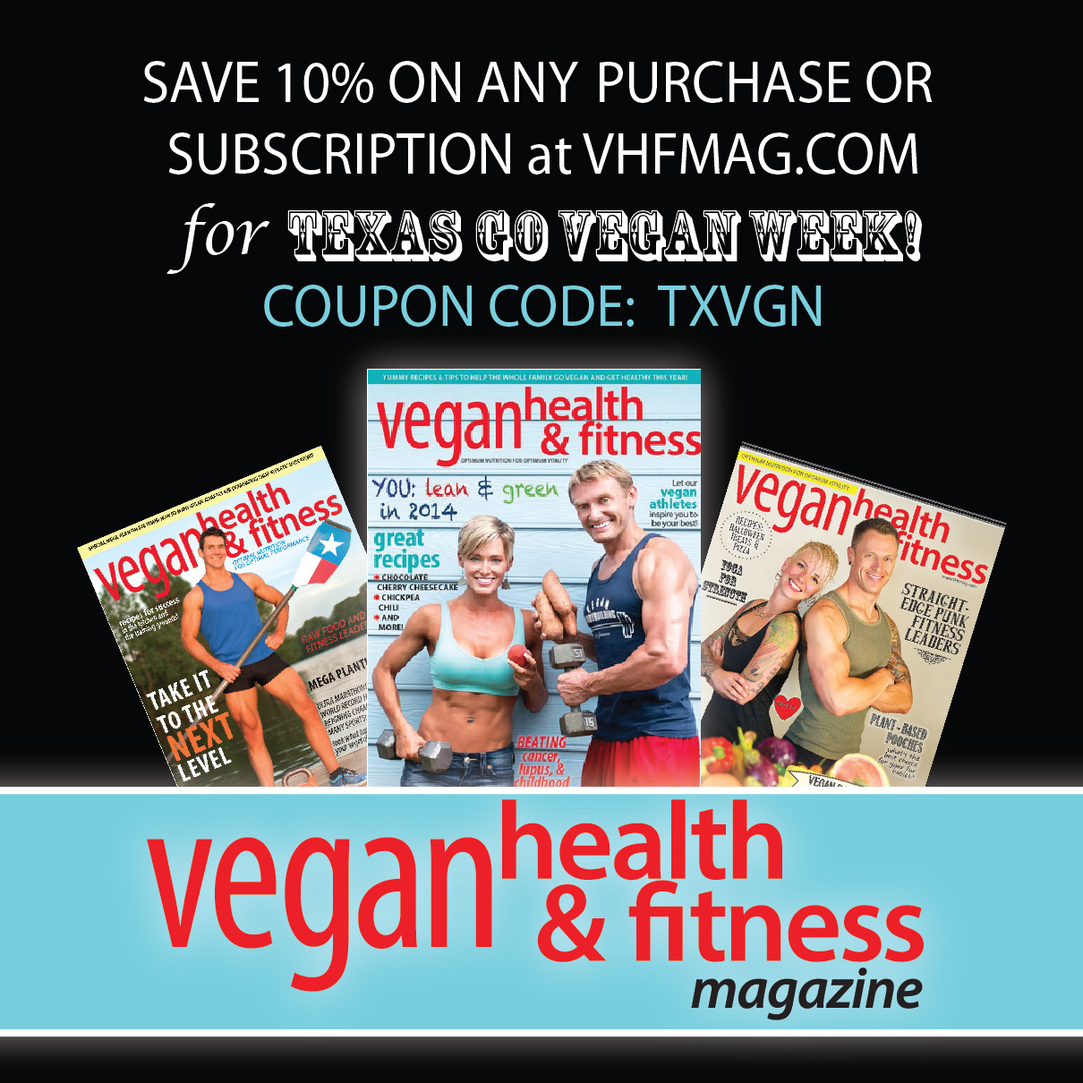 Vegan Health Fitness Magazine Texas Go Vegan Week 2015