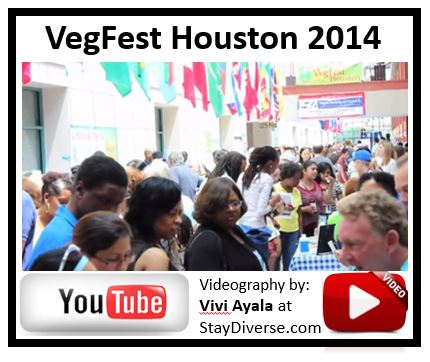 VegFest Houston 2014 Video Vegan Society of PEACE